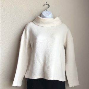 A New Day Cream Cowl Neck Long Sleeve Sweater